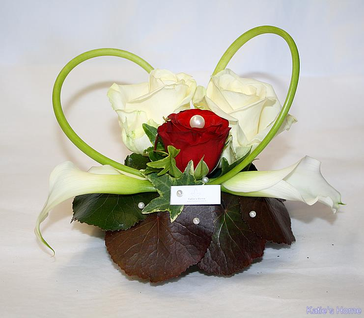 Petit centre de table floral livraison achat commande for Commande fleurs par internet